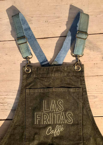 Basic denim apron ladies ( case study