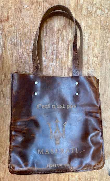 Mens Tote bag with logo