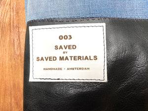 Our working method is sustainable and circular responsible.We only work by print on demand and production on demand.From the remains of saved materials we make leather accessories, leather bags, and leather cushions
