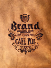 Load image into Gallery viewer, Half Apron with straps ( Brand cafe Pol)
