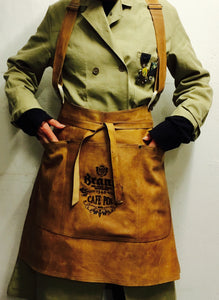 Half Apron with straps ( Brand cafe Pol)