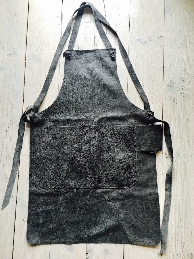 Ladies Apron in Grey