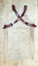 Load image into Gallery viewer, Licht Brown Butcher Leather Apron