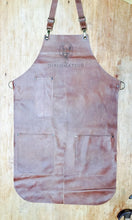 Load image into Gallery viewer, Long Apron Double splitleg apron with logo ( Diplomatico)