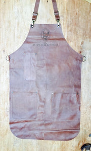 Long Apron Double splitleg apron with logo ( Diplomatico)