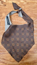 Load image into Gallery viewer, Choker recycled made of  Monsieur Dior silk tie.