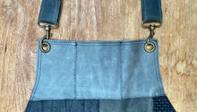 Load image into Gallery viewer, Up cycled full leather. The fully recycled handmade apron.