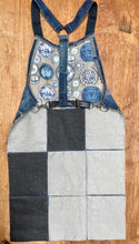 Load image into Gallery viewer, Unique Vegan recycled Apron Selvedge Denim Apron