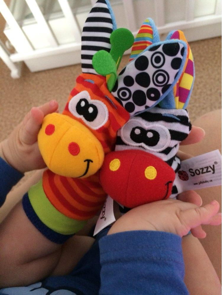 Wrist Rattle & Foot Sock (Pack of 4)