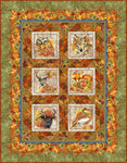 Our Autumn Friends Quilt Kit, Throw, Backing not included