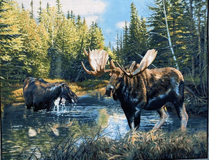 Caldwell Creek Moose Panel