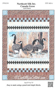 "Canada Geese Quilt Kit, 54"" x 72"", Backing not included."