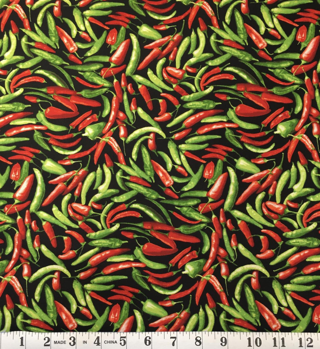 Farmer's Market - Red & Green Chilis
