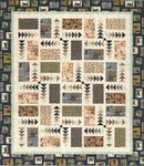 Flying Geese Quilt Kit, Throw, Backing not included.
