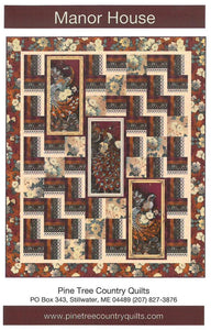 "Manor House Quilt Kit, 59"" x 71"", Backing not included."