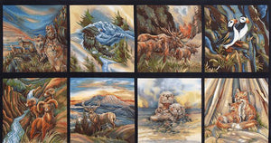 North American Wildlife 2 - Panel