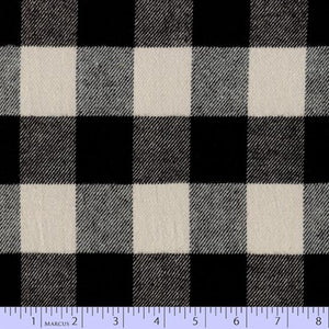 Primo Plaid Flannel - Black and White
