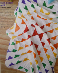 "Rain-Boom Quilt Kit, 56"" x 72"", Backing not included."