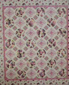 "Rosewater Quilt Kit, 49"" x 71"", Backing not included."