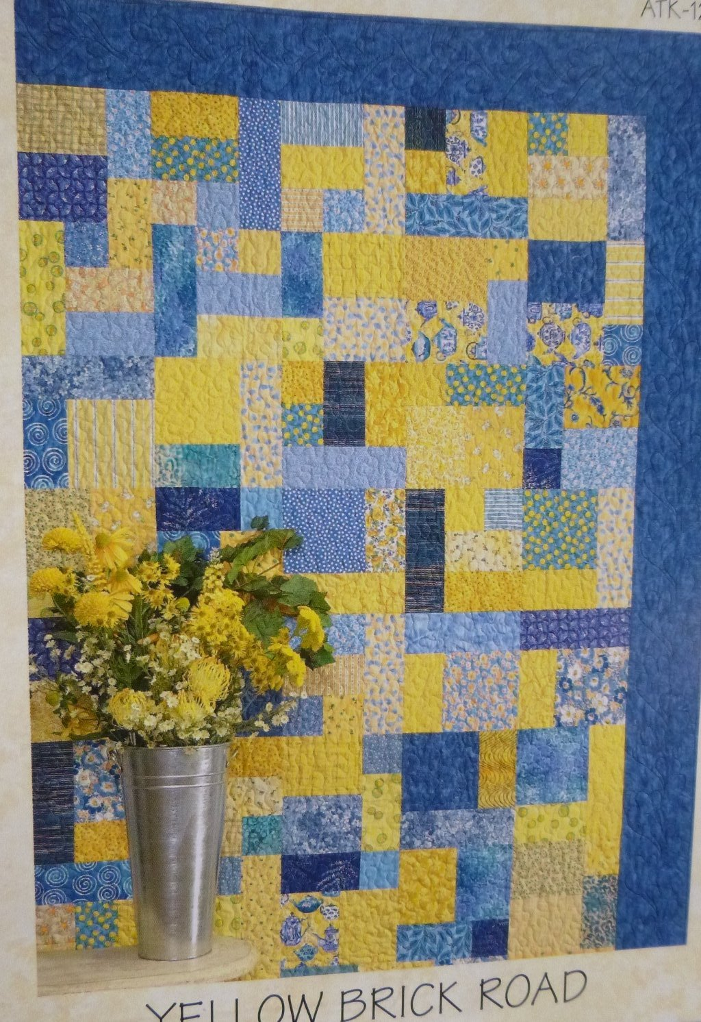 "Bed of Roses Quilt Kit, 57"" x 75"", Backing not included."