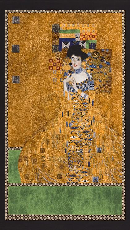 Gustav Klimt Woman Panel