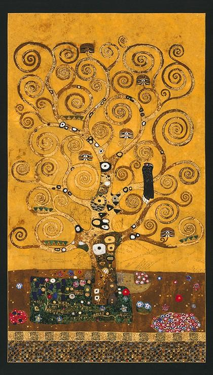 Gustav Klimt - Tree Panel