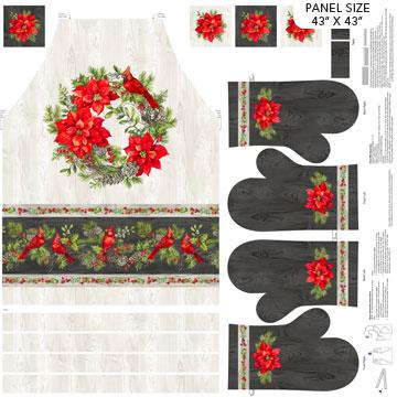 The Scarlet Feather - Apron and Mitt