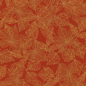 Wildwood Grace, Gold Etched Leaves on Spice