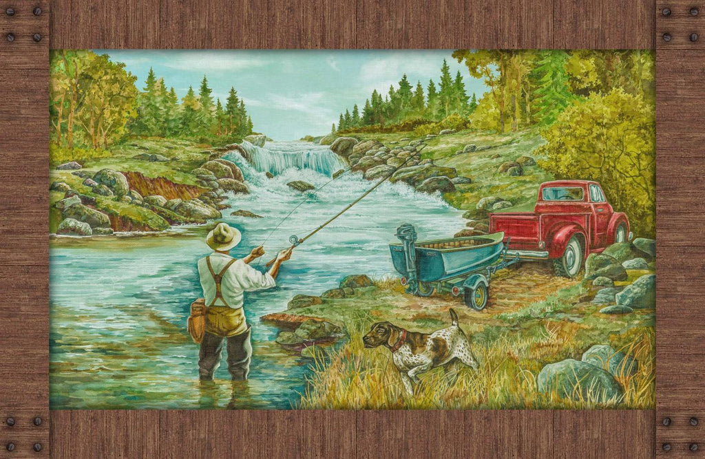 Rod and Reel, Panel