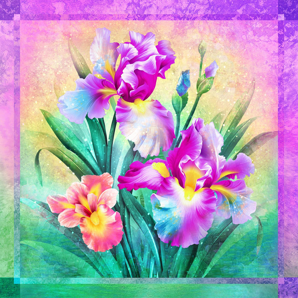 Iris Dream Panel - Purple