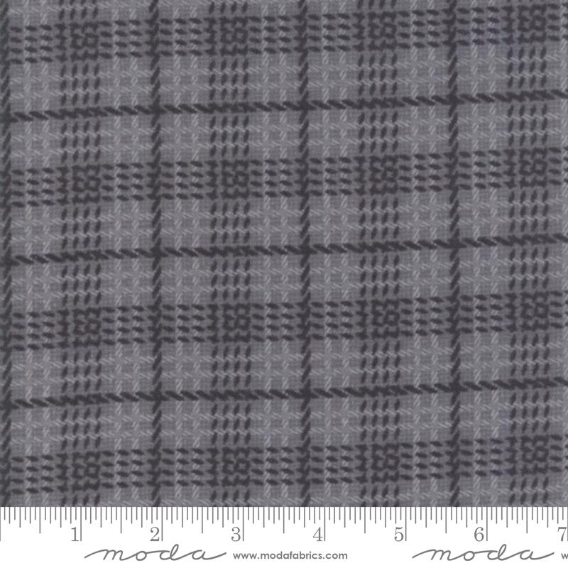 Farmhouse Flannels II - Graphite Plaid