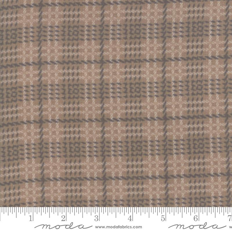 Farmhouse Flannels II - Toast Plaid