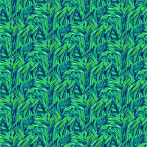 Flamingo Abstract Blue/Green