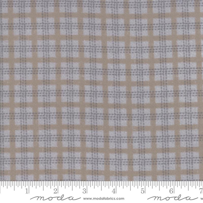 Farmhouse Flannels II - Feather Plaid