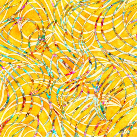 Radiance - Ribbons, Yellow