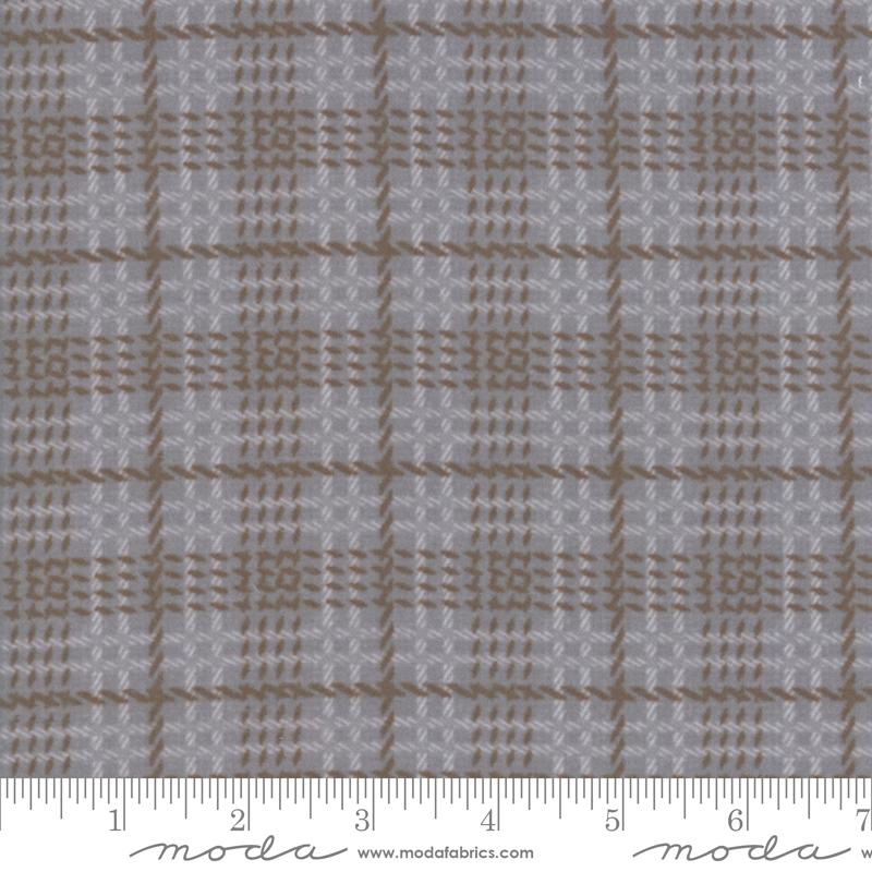 Farmhouse Flannels II - Steel Plaid