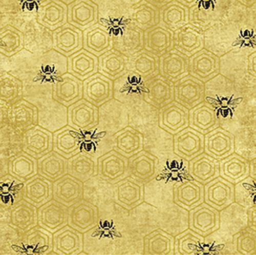 Bee Kind - Bees on Honeycomb