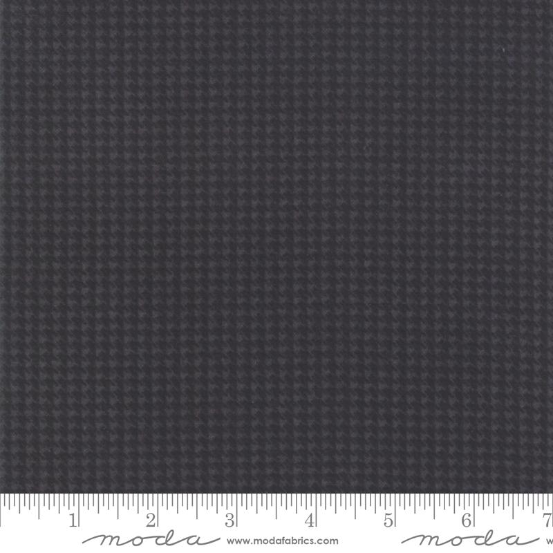 Farmhouse Flannels II - Iron/Graphite Houndstooth