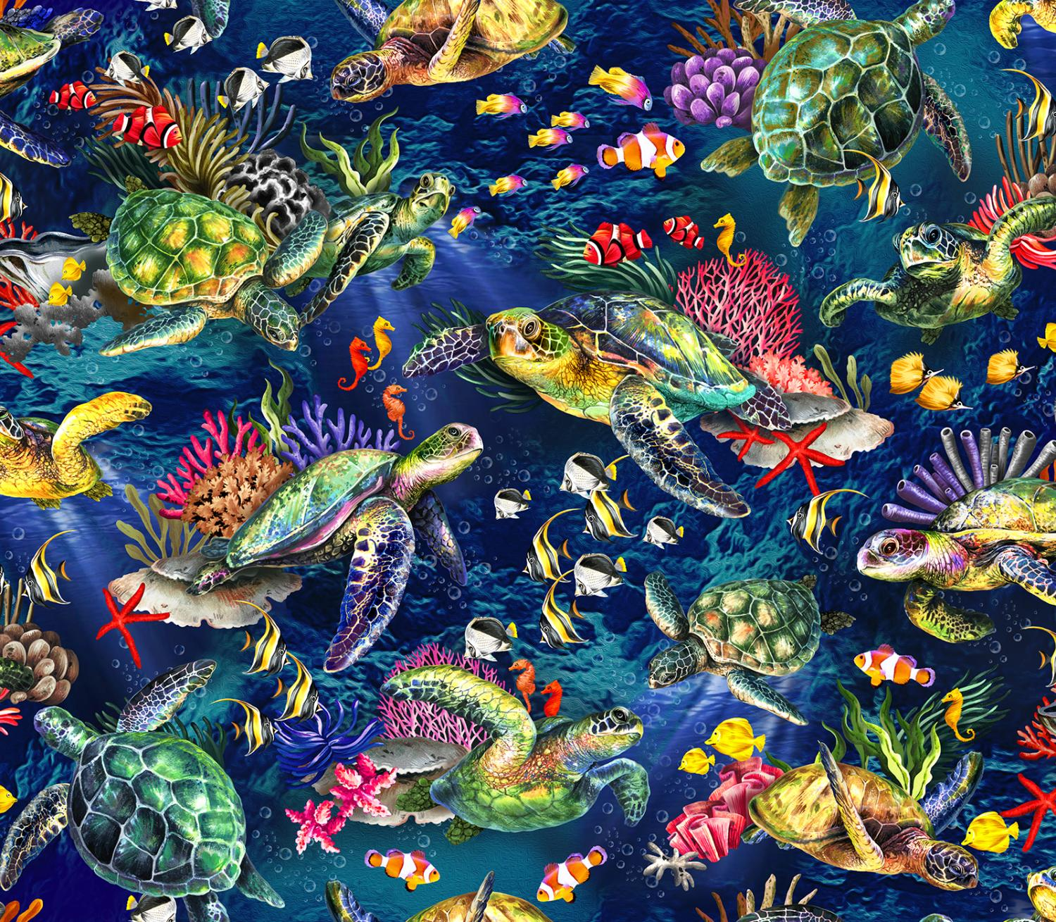 The Reef - Sea Turtles