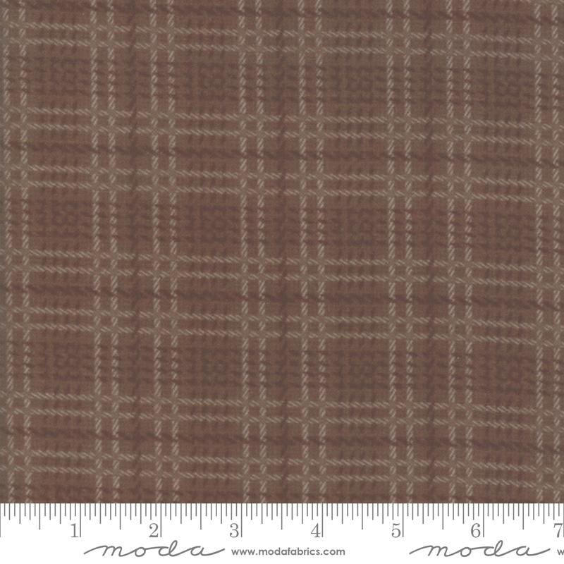Farmhouse Flannels II - Mocha Plaid