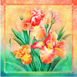 Iris Dream Panel - Orange