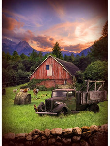 Sun Up to Sundown - Barn at Dawn