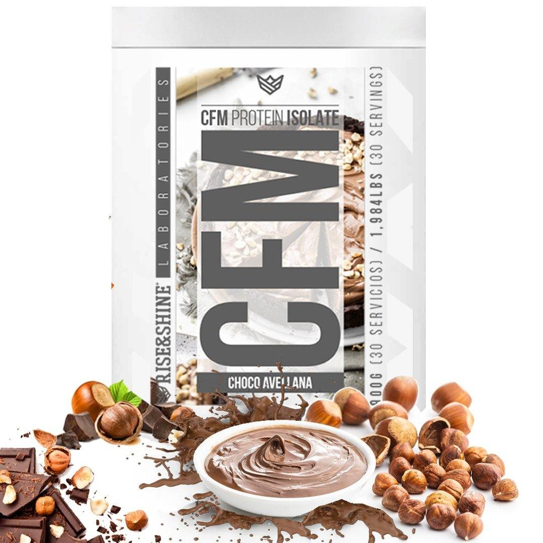 900g CFM Whey Protein Isolate (Choco Avellana)
