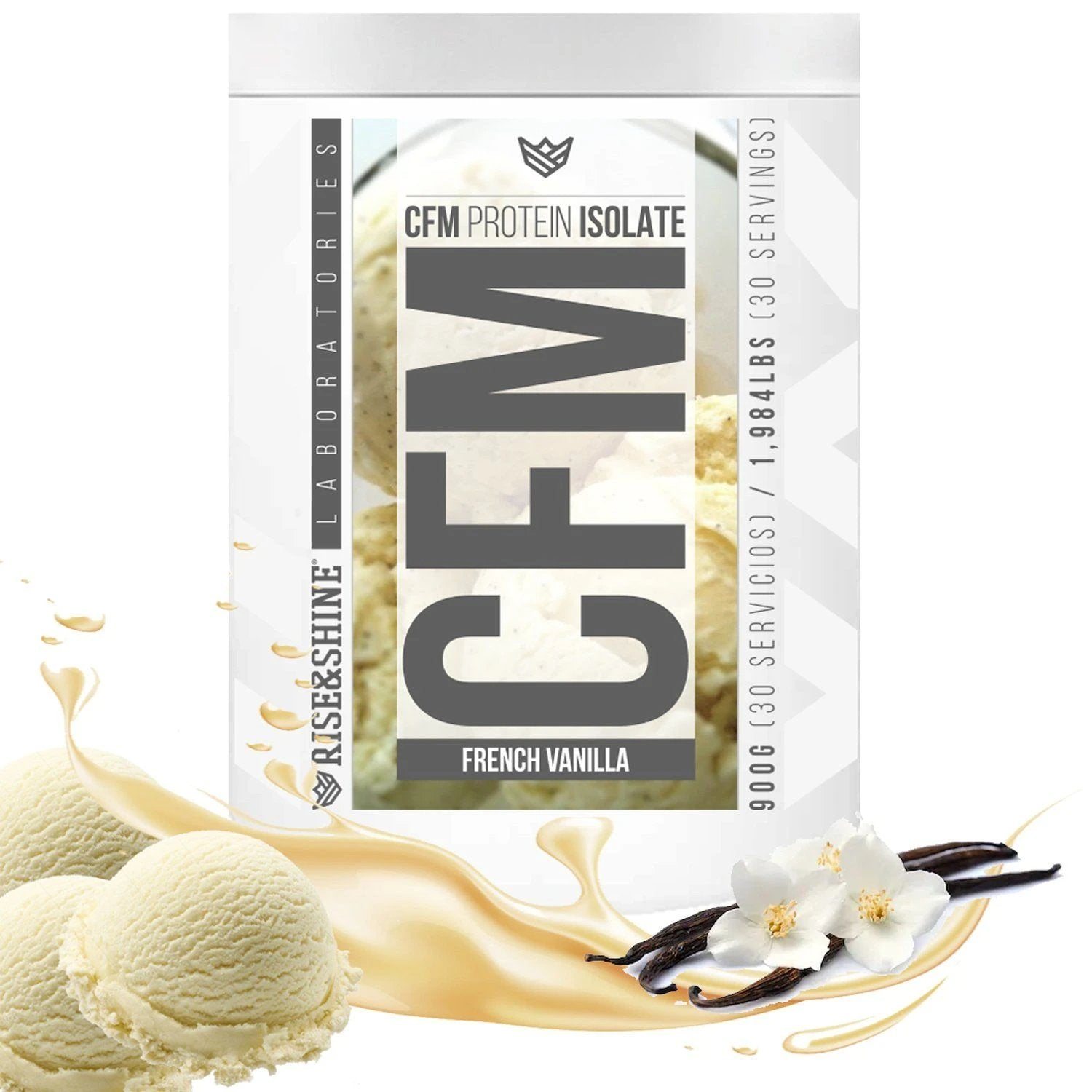900g CFM Whey Protein Isolate (French Vanilla)