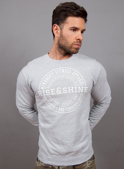 """Classic"" Sudadera - 3 Colores Disponibles Sudaderas Unisex Rise&Shine Mindbody Industries XS Gris"