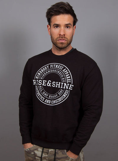 """Classic"" Sudadera - 3 Colores Disponibles Sudaderas Unisex Rise&Shine Mindbody Industries XS Negro"