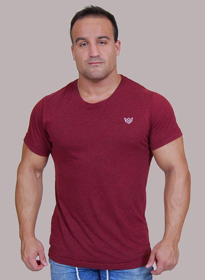 """Mission"" Camiseta - 2 Colores Disponibles Camiseta de Hombre Rise&Shine Mindbody Industries S Burdeos"