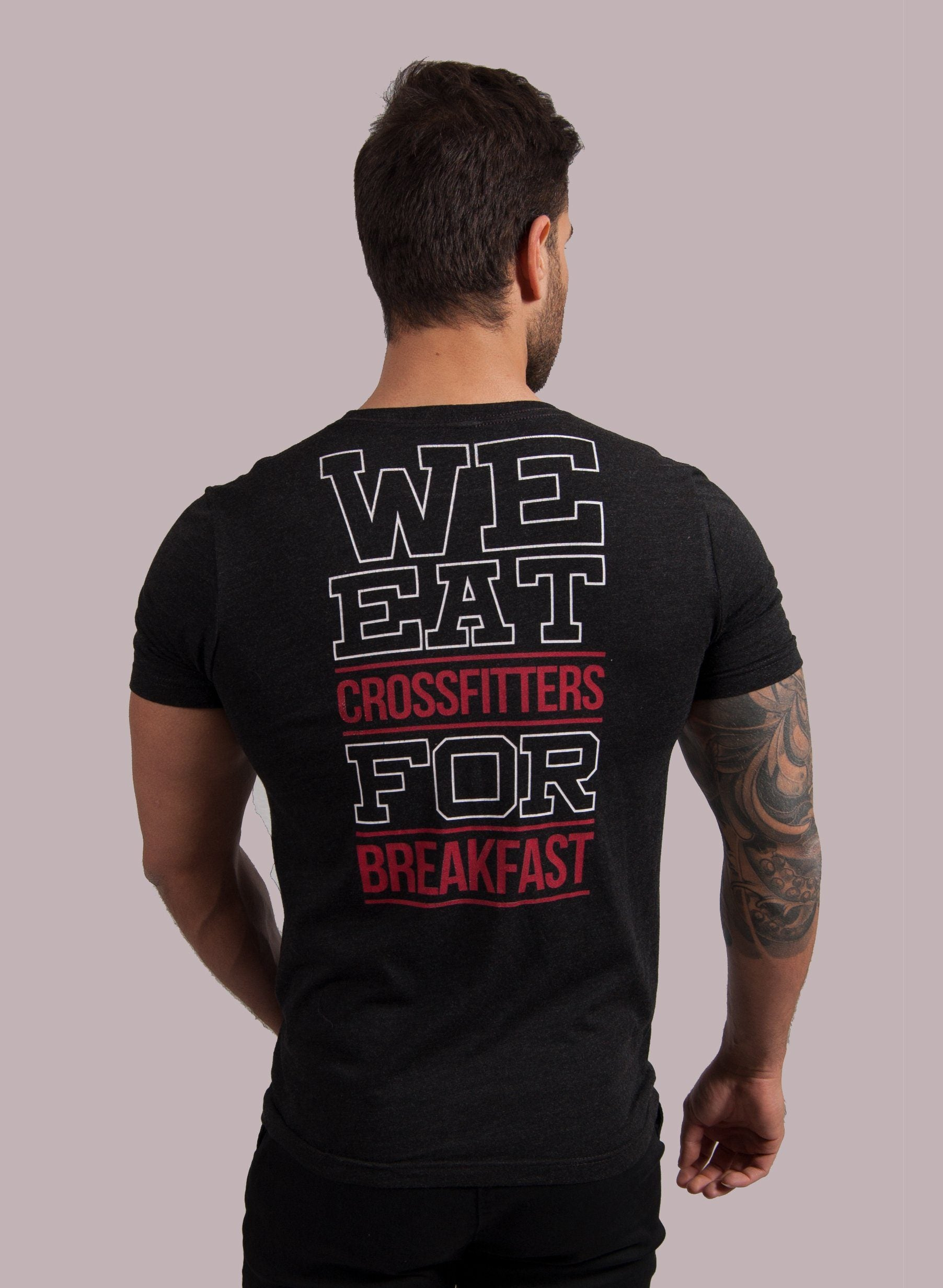 """NGU We Eat.."" Camiseta Camiseta de Hombre Rise&Shine Mindbody Industries"