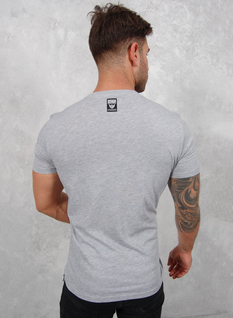 """ONE"" Camiseta - 3 colores disponibles Camiseta de Hombre Rise&Shine Mindbody Industries S Gris"