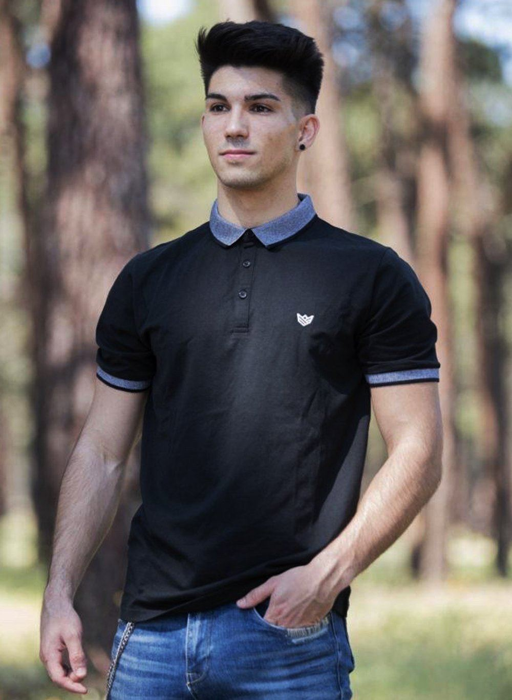 Polo Aesthetic - 2 Colores Disponibles Camiseta de Hombre Rise&Shine Mindbody Industries